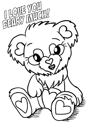 Free Printable Valentine S Day Coloring Pages Crafty Morning