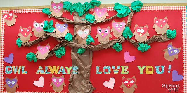 owl-always-love-you-valentines-day-bulletin-board