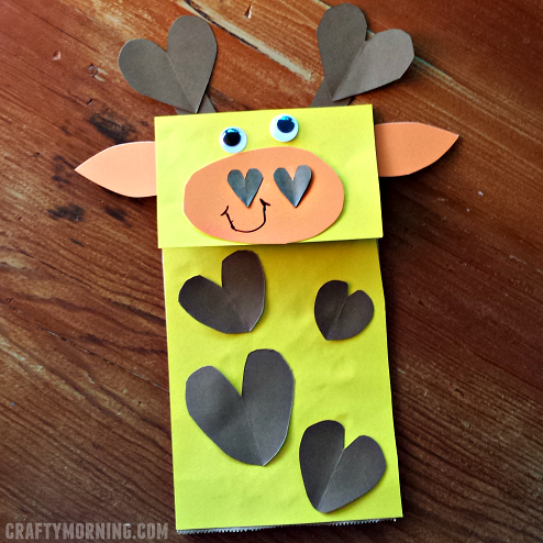 paper-bag-giraffe-heart-puppet-craft