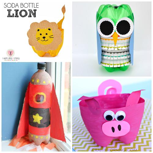 Soda Bottle Craft Ideas For Kids To Make Crafty Morning