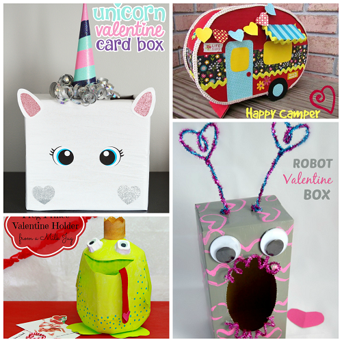 Valentine Boxes that Kids will Love