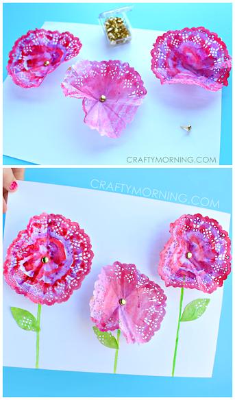 3d-doily-flower-spring-craft-for-kids-