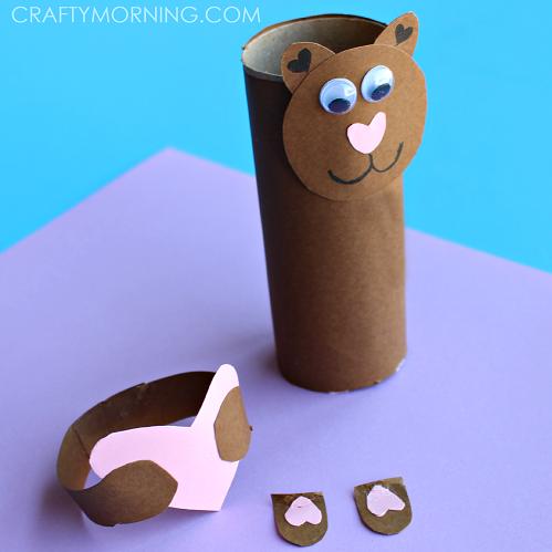 TOILET-PAPER-roll-valentine-bear-craft