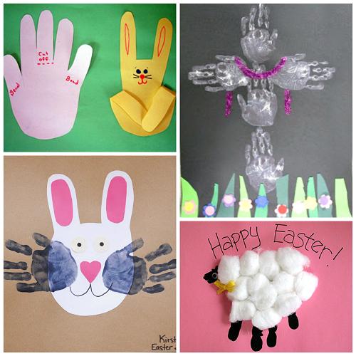 adorable-handprint-easter-crafts-for-kids