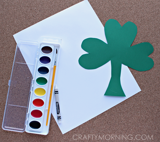 crayon-resist-shamrock-st-patricks-day-craft-for-kids