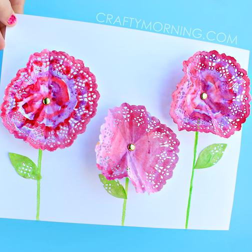 doily-flower-spring-craft-for-kids-