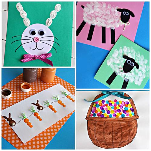 easter-fingerprint-crafts-for-kids-