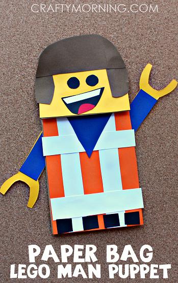 fun-paper-bag-lego-man-puppet-craft-for-kids-