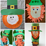 Leprechaun Crafts for Kids to Make on St. Patty's Day