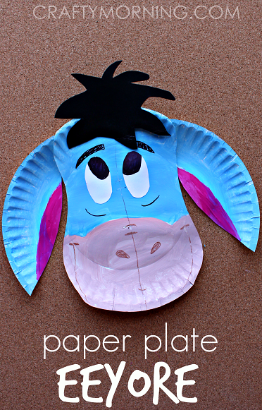 paper-plate-eeyore-donkey-craft-for-kids-