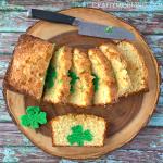 Peek-a-Boo St. Patrick's Day Pound Cake