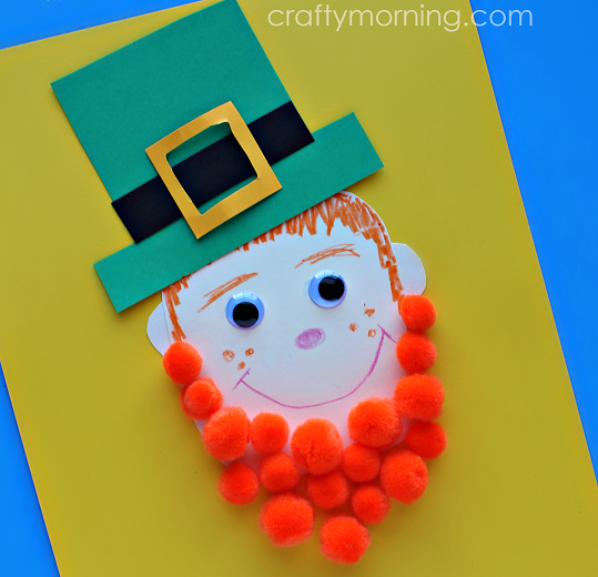 -pom-pom-leprechaun-st-patricks-day-craft-for-kids