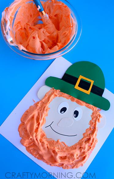 puffy-paint-leprechaun-st-patricks-day-craft-for-kids-