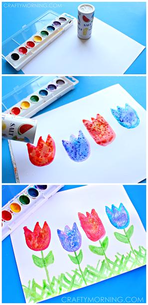 salt-art-spring-tulips-craft-for-kids