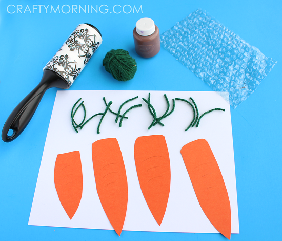 CARROT-PATCH-BUBBLE-WRAP-CRAFT-FOR-KIDS