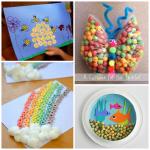 Fantastic Kids Crafts Using Cereal