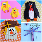 Clever Popsicle Stick Crafts for Kids to Create