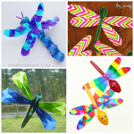Colorful Dragonfly Craft Ideas for Kids