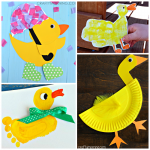 Darling Duck Crafts for Kids to Make