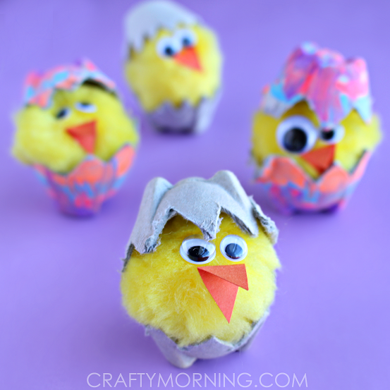 egg-carton-hatching-chick-easter-craft-for-kids