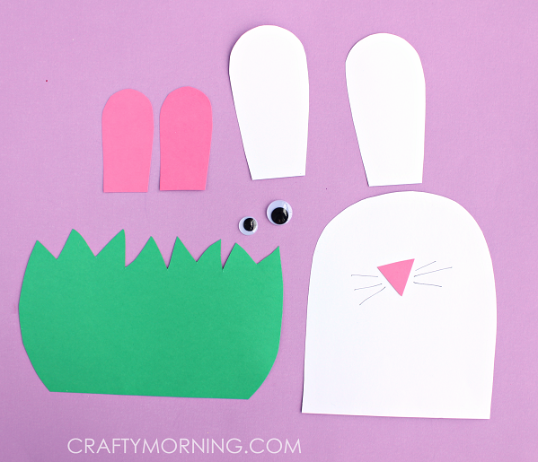 paper-bunny-hiding-in-grass-easter-kids-craft