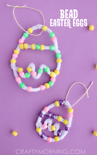 pipe-cleaner-bead-easter-egg-craft-for-kids-