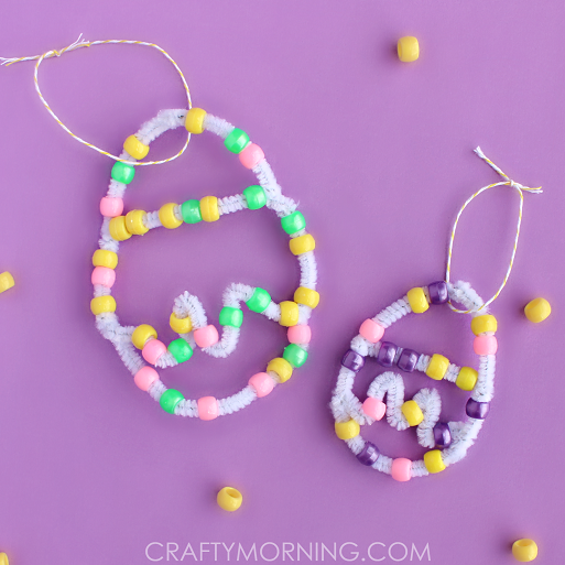 pipe-cleaner-bead-easter-egg-craft-for-kids-to-make