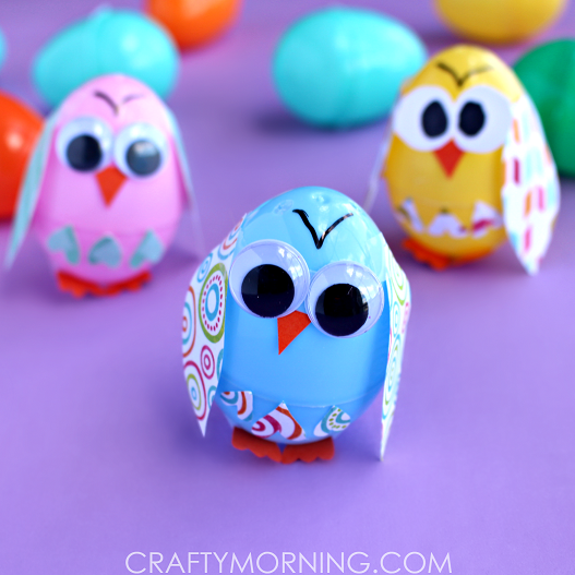 plastic-egg-owl-craft-for-kids