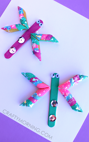 pretty-noodle-dragonfly-spring-craft-for-kids-