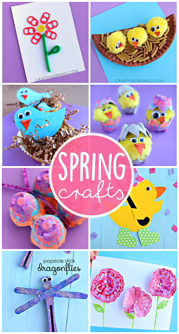 pretty-spring-crafts-for-kids-to-make-
