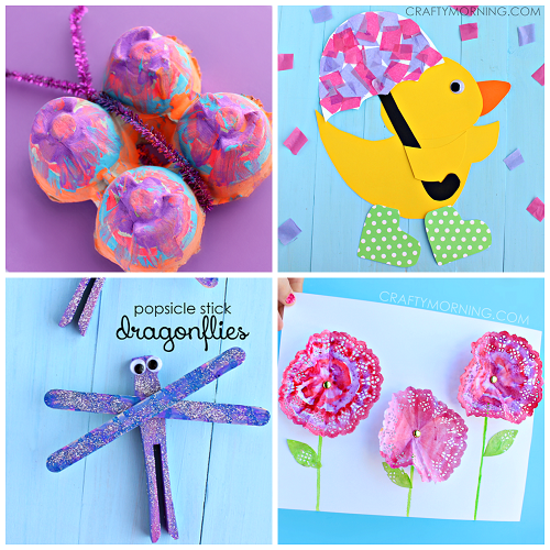 pretty-spring-crafts-for-kids-to-make