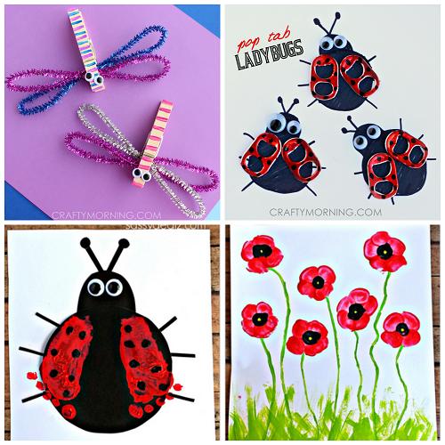 spring-bug-crafts-for-kids