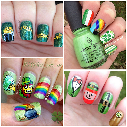 Festive St. Patrick's Day Nail Ideas