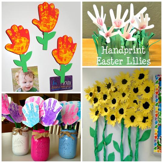 adorable-handprint-flower-kids-crafts