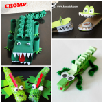 Creative Alligator & Crocodile Crafts for Kids