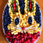 Creative Bunny Rabbit Fruit Platter