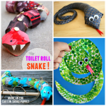The Coolest Snake Crafts for Kids to Create