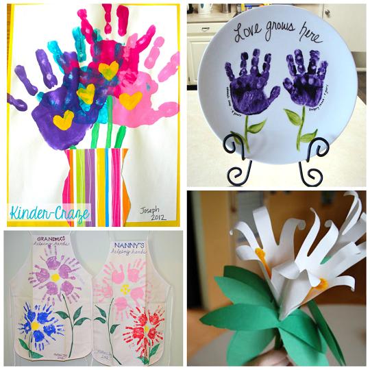 cute-handprint-flower-crafts-for-kids