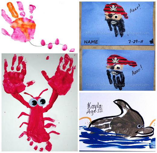 cute-summer-handprint-crafts-for-kids