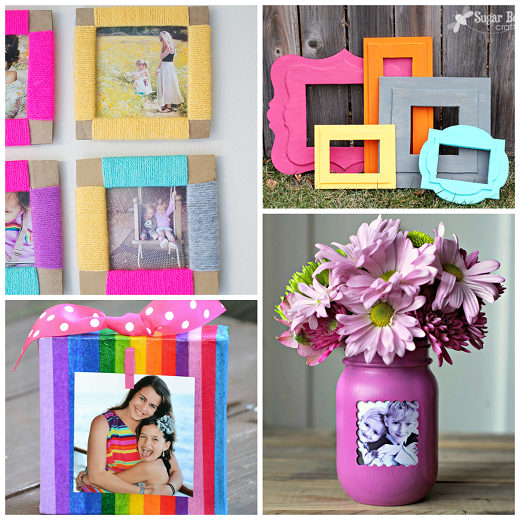 Diy Photo Frame Ideas Crafty Morning