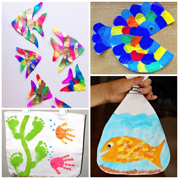 Art Ideas From Paper Roll Fish