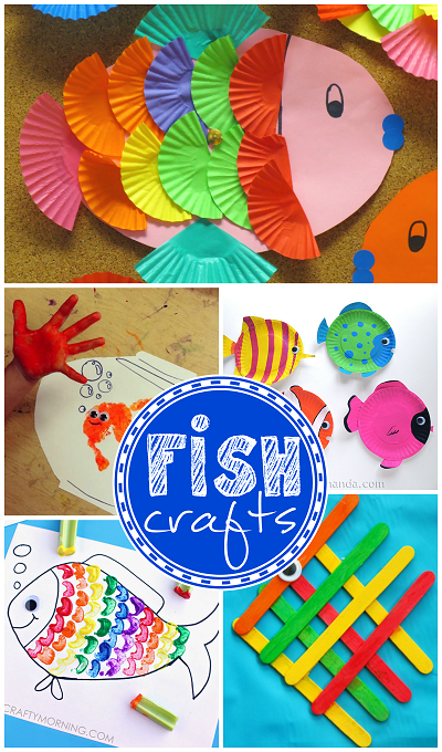 Creative Little Fish Crafts For Kids Crafty Morning