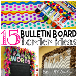 Creative Bulletin Board Borders for the Classroom