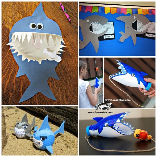 ocean-shark-crafts-for-kids-to-make-