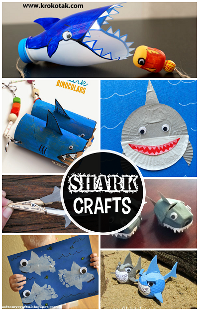 ocean-shark-crafts-for-kids-to-make-shark-week
