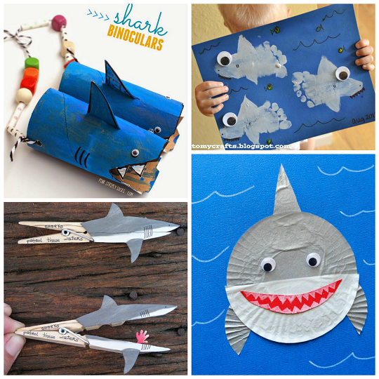 Shark Arts And Crafts Projects