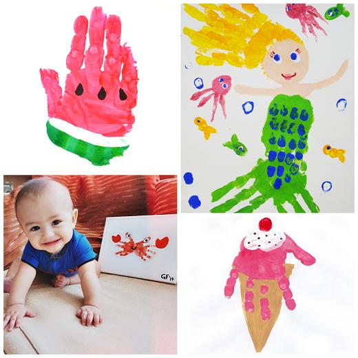 summer-handprint-crafts-for-kids