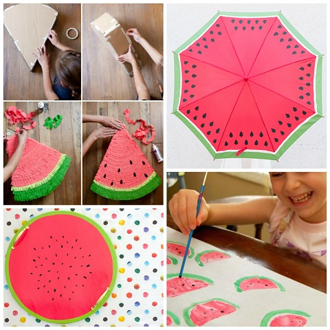 Watermelon Crafts Diy Projects For Summer Crafty Morning