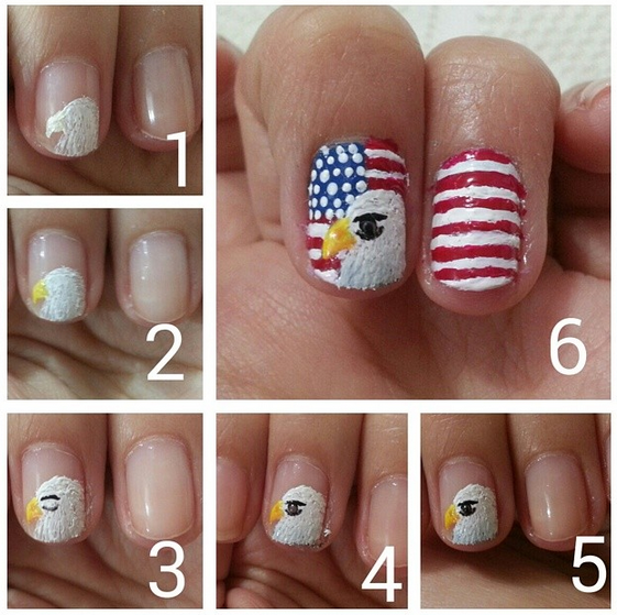 bald-eagle-4th-of-july-nails