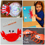 Crab Crafts for Kids to Make this Summer